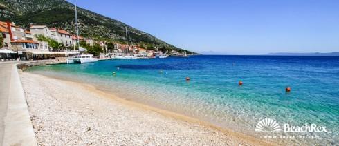 Croatia - Dalmatia  Split - Island Brač -  Bol - Beach Riva