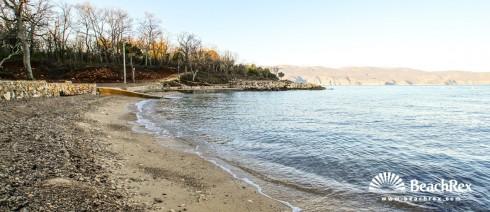 Croatia - Kvarner - Island Krk -  Brzac - Beach Glavotok