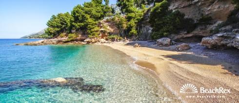 Croatia - Dalmatia  Split - Island Brač -  Bol - Beach Paklina