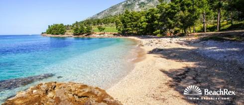 Croatia - Dalmatia  Split - Island Brač -  Bol - Beach Jelena