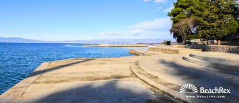 Croatia - Kvarner - Island Krk -  Malinska - Beach Vrtača