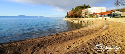 Croatia - Kvarner - Island Krk -  Malinska - Beach Haludovo