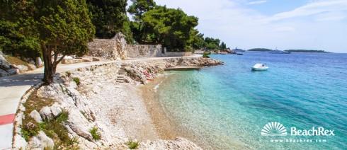 Croatia - Dalmatia  Split - Island Hvar -  Hvar - Beach Majerovica
