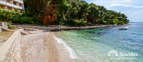 Croatia - Dalmatia  Split - Island Hvar -  Hvar - Beach Sirena