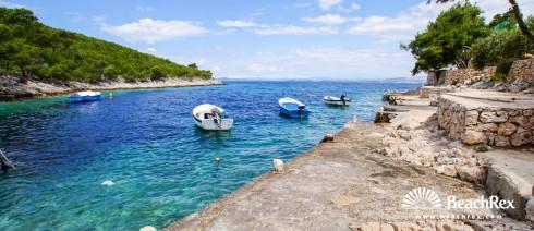 Croatia - Dalmatia  Split - Island Hvar -  Hvar - Beach Zastupac