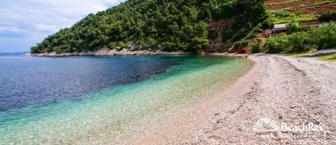 Croatia - Dalmatia  Split - Island Hvar -  Brusje - Beach Stiniva