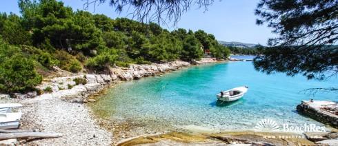 Croatia - Dalmatia  Split - Island Brač -  Milna - Beach Lučica