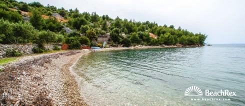 Croatia - Dalmatia  Split - Island Brač -  Bobovišća - Beach Mihoj-dolac
