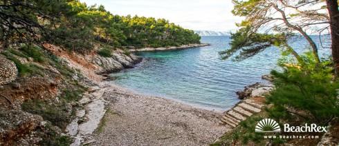 Croatia - Dalmatia  Split - Island Hvar -  Jelsa - Beach Bočić