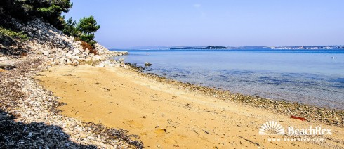 Croatia - Dalmatia  Zadar - Island Pašman -  Tkon - Beach Glavičine