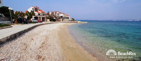 Croatia - Dalmatia  Zadar - Island Ugljan -  Preko - Beach Bilišće