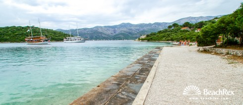 Croatia - Dalmatia  Dubrovnik - Island Korčula -  Žrnovo - Beach Vela Vrbovica