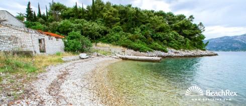 Croatia - Dalmatia  Dubrovnik - Island Korčula -  Žrnovo - Beach Ožujak