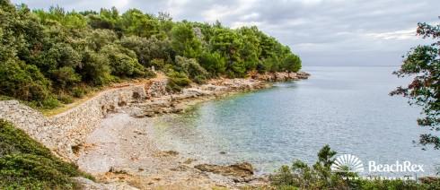 Croatia - Kvarner - Island Lošinj -  Mali Lošinj - Beach Male Valdarke