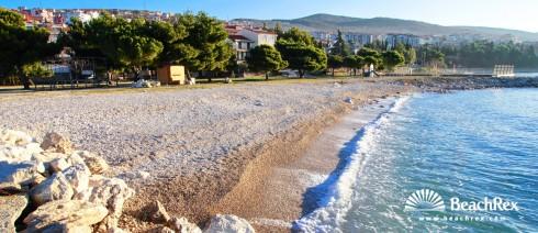 Croatia - Kvarner -  Crikvenica - Beach Podvorska