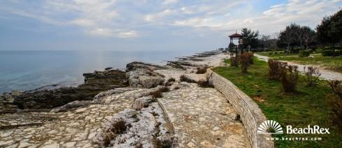 Croatia - Istra -  Červar - Beach Ulika