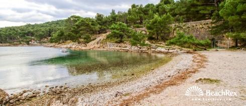 Croatia - Kvarner - Island Lošinj -  Mali Lošinj - Beach Valdarke