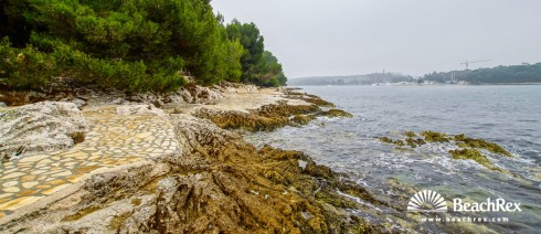 Croatia - Istra -  Poreč - Beach Plava Laguna