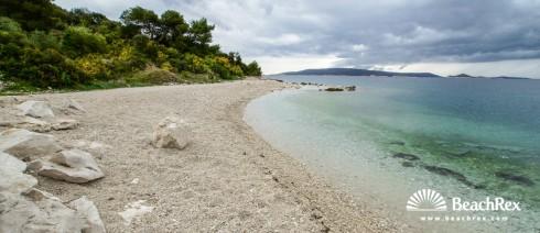 Croatia - Dalmatia  Split - Island Čiovo -  Okrug Donji - Beach Kava
