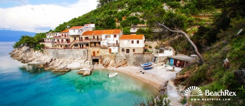 Croatia - Dalmatia  Split - Island Hvar -  Gdinj - Beach Pobij