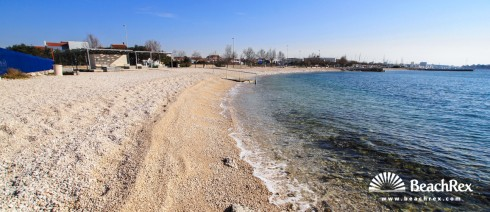 Croatia - Dalmatia  Zadar -  Zadar - Beach Uskok
