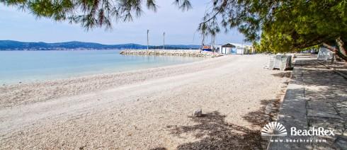 Croatia - Dalmatia  Zadar -  Biograd na Moru - Beach Dražica