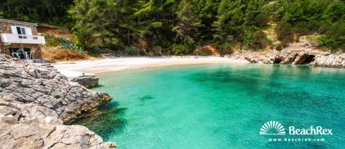 Croatia - Dalmatia  Split - Island Hvar -  Bogomolje - Beach Nika