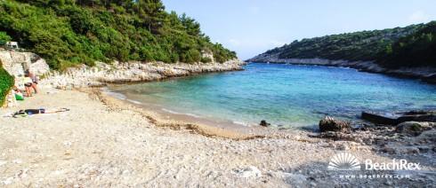 Croatia - Dalmatia  Dubrovnik - Island Korčula -  Čara - Beach Žitna