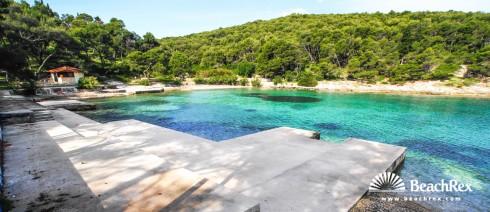 Croatia - Dalmatia  Split - Island Brač -  Postira - Beach Prvija