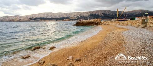 Croatia - Kvarner - Island Krk -  Baška - Beach Helena