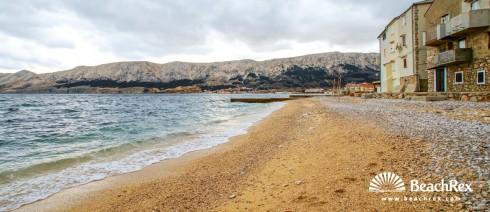 Croatia - Kvarner - Island Krk -  Baška - Beach Palada