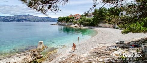 Croatia - Dalmatia  Split - Island Brač -  Postira - Beach Lozna mala