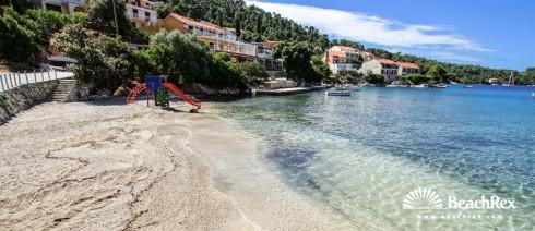 Croatia - Dalmatia  Dubrovnik - Island Korčula -  Brna - Beach Žal