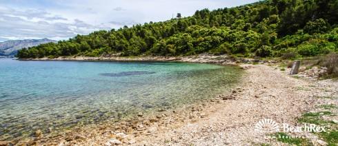 Croatia - Dalmatia  Split - Island Brač -  Postira - Beach Trstena