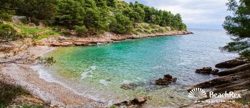 Croatia - Dalmatia  Split - Island Šolta -  Rogač - Beach Kašjun