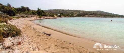 Croatia - Dalmatia  Split -  Sevid - Beach Stari Trogir