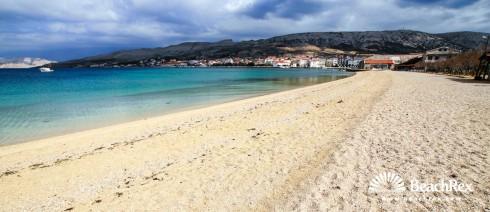 Croatia - Dalmatia  Zadar - Island Pag -  Pag - Beach Prosika