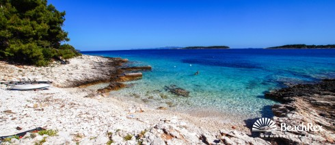 Croatia - Dalmatia  Dubrovnik - Island Korčula -  Potirna - Beach Nova