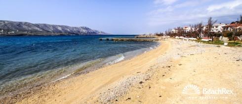 Croatia - Dalmatia  Zadar - Island Pag -  Pag - Beach Bašaca