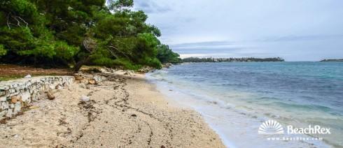 Croatia - Istra -  Rovinj - Beach Zlatni Rt