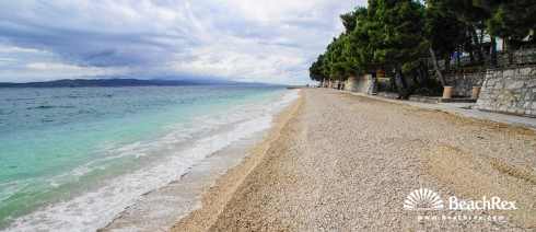 Croatia - Dalmatia  Split -  Baška Voda - Beach Ikovac