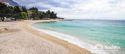 Croatia - Dalmatia  Split -  Baška Voda - Beach Podluka
