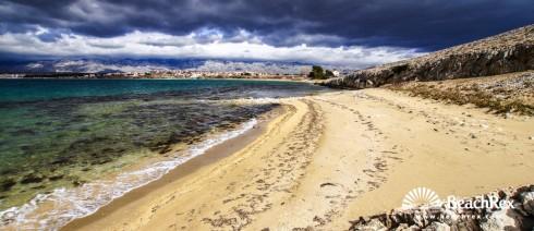 Croatia - Dalmatia  Zadar - Island Pag -  Povljana - Beach Livade i Obatnice