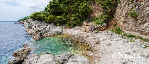 Croatia - Dalmatia  Dubrovnik -  Zaton - Beach Gof