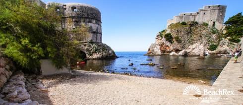 Hrvatska - Dalmacija  Dubrovnik -  Dubrovnik - Plaža Bokar