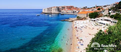 Croatia - Dalmatia  Dubrovnik -  Dubrovnik - Beach Banje