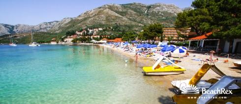 Croatia - Dalmatia  Dubrovnik -  Cavtat - Beach Žal