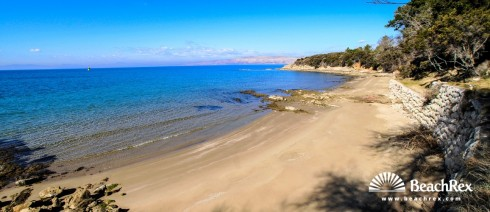 Croatia - Kvarner - Island Rab -  Lopar - Beach Rt. Zidine