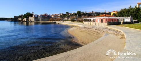Croatia - Kvarner - Island Krk -  Krk - Beach Porto Pižana