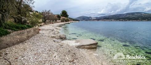 Croatia - Dalmatia  Split - Island Čiovo -  Mastrinka - Beach Mastrinka